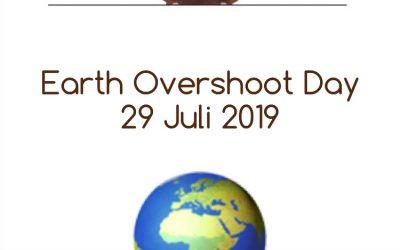 🌍 EARTH OVERSHOOT DAY 2019 🌍